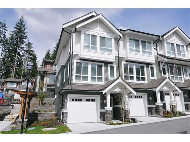 """Main Photo: 114 1460 SOUTHVIEW Street in Coquitlam: Burke Mountain Townhouse for sale in """"CEDAR CREEK"""" : MLS®# V940552"""