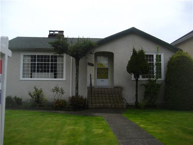 Main Photo: 2608 W 22ND Avenue in Vancouver: Arbutus House for sale (Vancouver West)  : MLS®# V946487