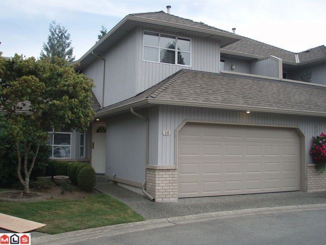 "Main Photo: # 56 8560 162ND ST in Surrey: Fleetwood Tynehead Townhouse for sale in ""LAKEWOOD GREEN"" : MLS®# F1301505"
