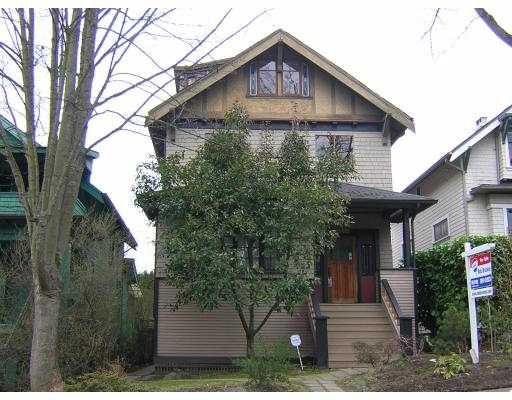 Main Photo: 2641 W 11TH AV in : Kitsilano House for sale : MLS®# V575928