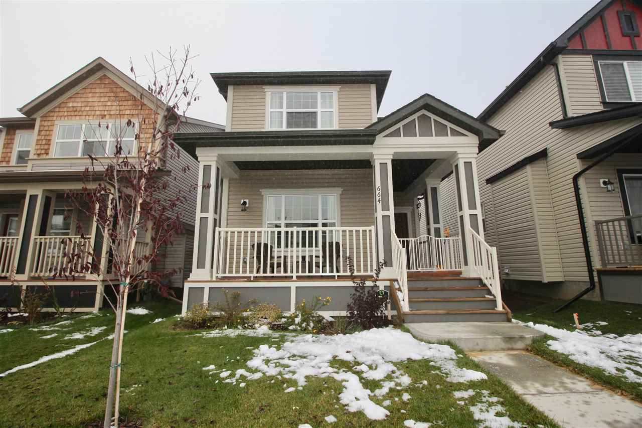 Main Photo: 664 SECORD BV NW in Edmonton: Zone 58 House for sale : MLS®# E4041563