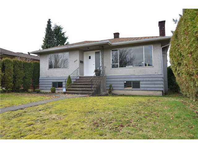 Main Photo: 3857 GLENDALE Street in Vancouver: Renfrew Heights House for sale (Vancouver East)  : MLS®# V934176