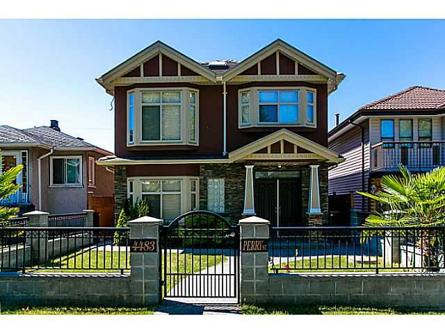 Main Photo: 4483 PERRY Street in Vancouver: Knight House for sale (Vancouver East)  : MLS®# V1020994
