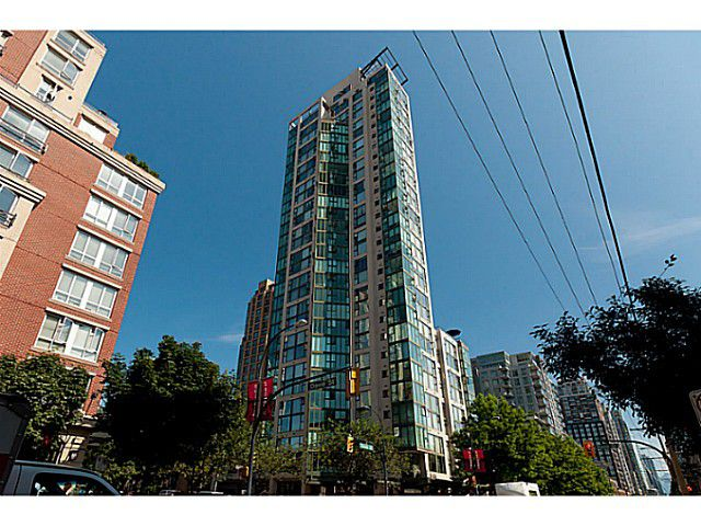 """Main Photo: 603 1155 HOMER Street in Vancouver: Yaletown Condo for sale in """"CityCrest"""" (Vancouver West)  : MLS®# V1078829"""