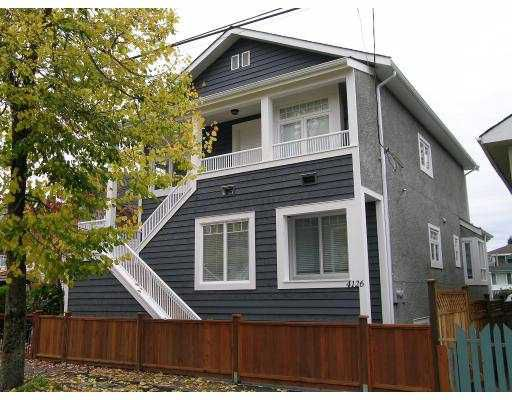 Main Photo: 4120 4126 COMMERCIAL ST in Vancouver: Victoria VE House for sale (Vancouver East)  : MLS®# V561207
