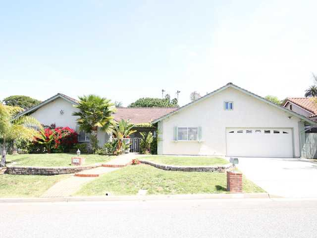 Main Photo: OCEANSIDE House for sale : 4 bedrooms : 1782 Terraza Street