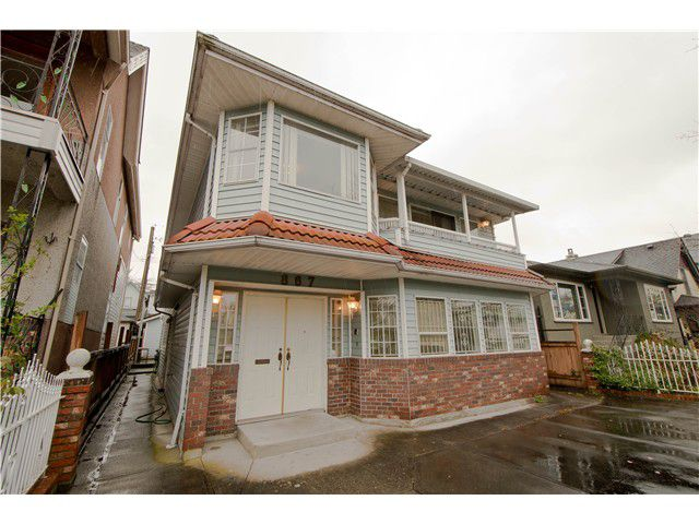 Main Photo: 867 E GEORGIA Street in Vancouver: Mount Pleasant VE House for sale (Vancouver East)  : MLS®# V1013010