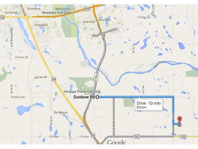 Main Photo: 262034 80 St E in DE WINTON: Rural Foothills M.D. Rural Land for sale : MLS®# C3631916