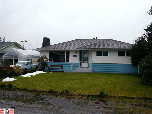 Main Photo: 2619 MINTER Street in Abbotsford: Abbotsford West House for sale : MLS®# F1202435