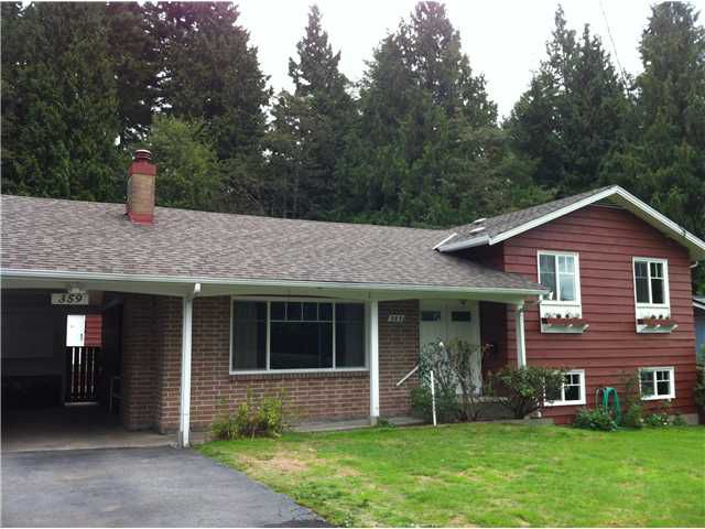 Main Photo: 359 LAURENTIAN CR in Coquitlam: Central Coquitlam House for sale : MLS®# V1028731
