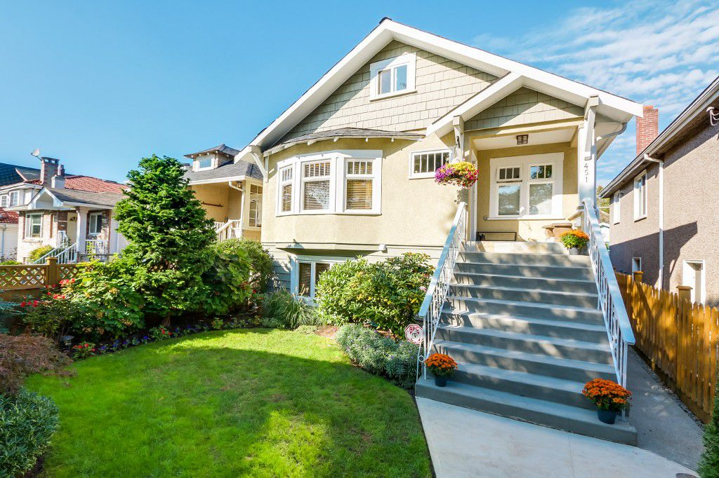 Main Photo: 451 E 47th Avenue in Vancouver: House for sale : MLS®# V1090561