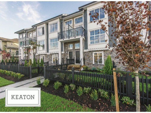 Main Photo: 24 7686 209 Street in Langley: Willoughby Heights Townhouse for sale : MLS®# F1427420
