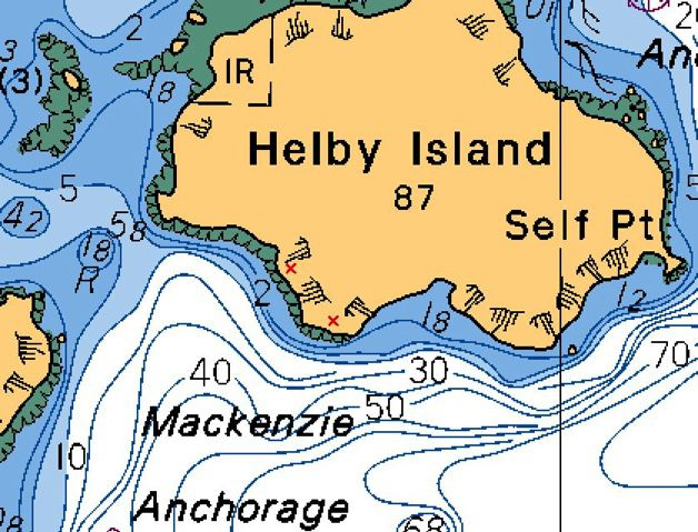 Deer Group, Helby Island