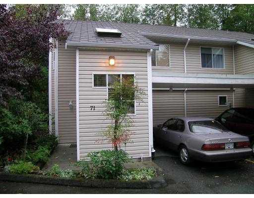 "Main Photo: 71 1235 LASALLE PL in Coquitlam: Canyon Springs Townhouse for sale in ""CREEKSIDE PLACE"" : MLS®# V561297"