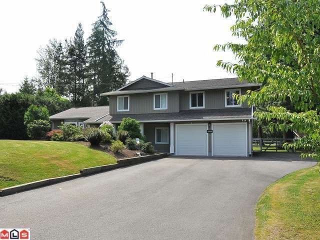 "Main Photo: 22848 76B CR in Langley: Fort Langley House for sale in ""Forest Knolls"" : MLS®# F1301812"