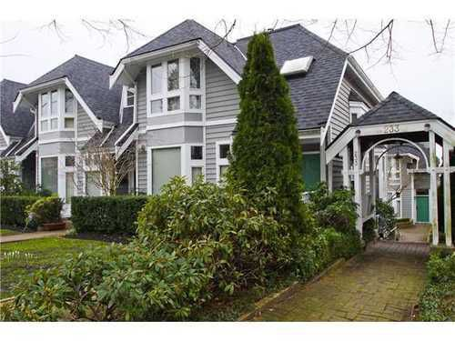 Main Photo: 5 233 6TH Street E in North Vancouver: Lower Lonsdale Home for sale ()  : MLS®# V937748