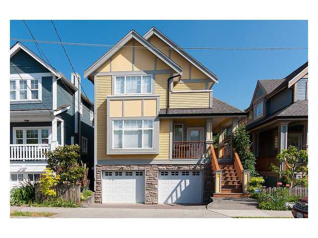 Main Photo: 1781 E 5TH Avenue in Vancouver: Grandview VE House 1/2 Duplex for sale (Vancouver East)  : MLS®# V1007117