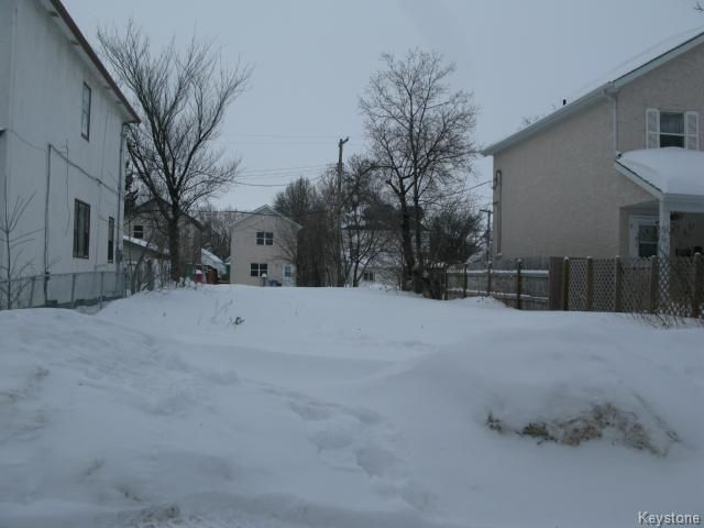 Main Photo: 89 Lorne Avenue in WINNIPEG: North End Vacant Land for sale (North West Winnipeg)  : MLS®# 1402986