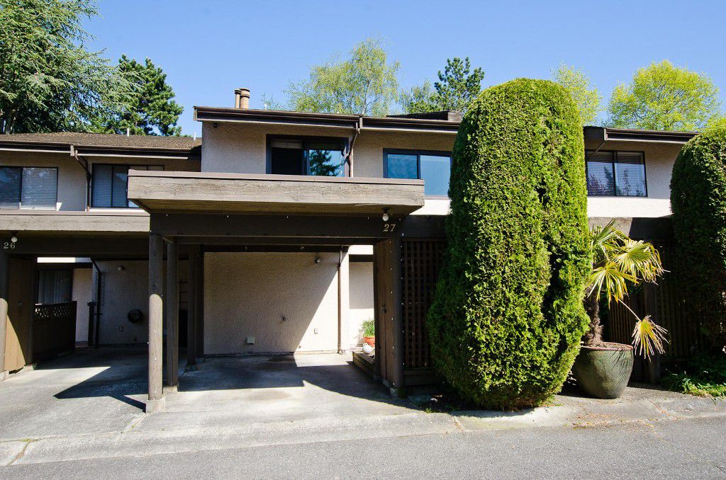 "Main Photo: # 27 11391 7TH AV in Richmond: Steveston Villlage Townhouse for sale in ""MARINERS VILLAGE"" : MLS®# V1006084"