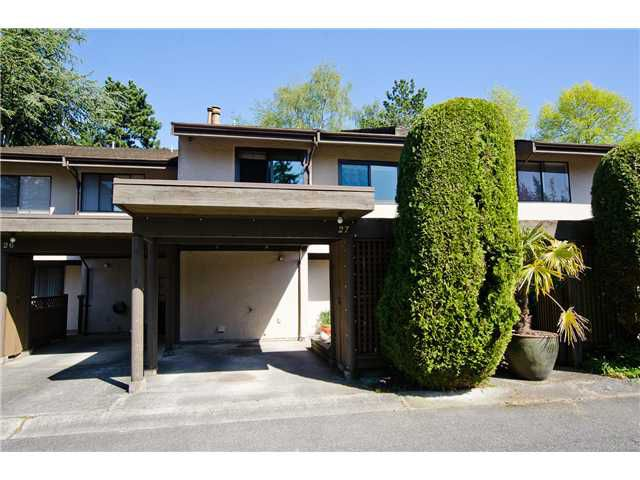 "Main Photo: 27 11391 7TH Avenue in Richmond: Steveston Villlage Townhouse for sale in ""MARINERS VILLAGE"" : MLS®# V1006084"