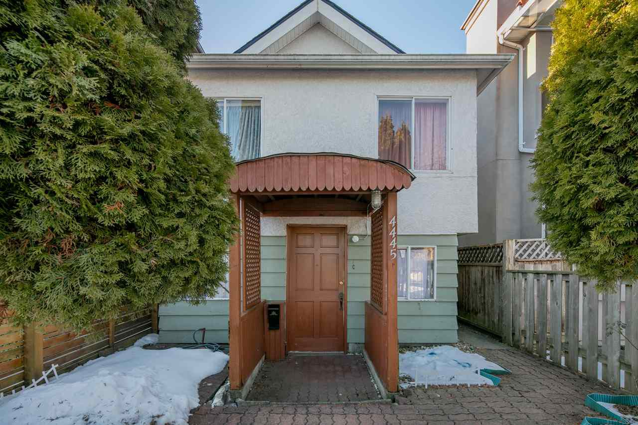 Main Photo: 4445 WALDEN STREET in Vancouver: Main House for sale (Vancouver East)  : MLS®# R2130301