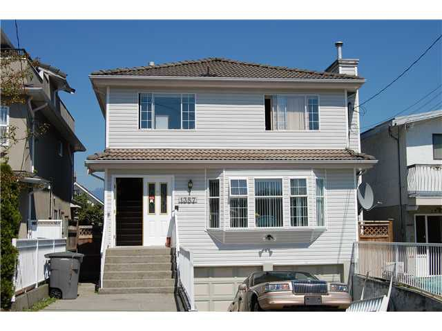 Main Photo: 1357 E 29TH Avenue in Vancouver: Knight House for sale (Vancouver East)  : MLS®# V846082