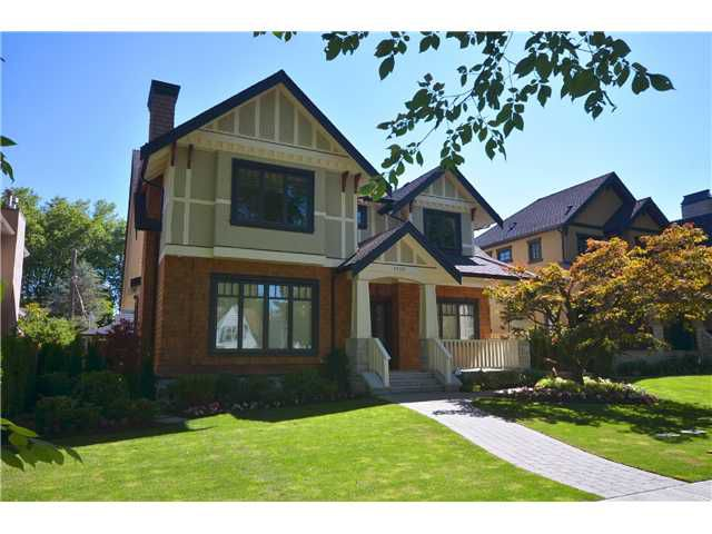 Main Photo: 2450 W 35TH Avenue in Vancouver: Quilchena House for sale (Vancouver West)  : MLS®# V1019237