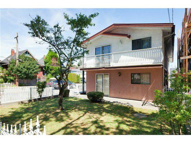 Main Photo: 408 E KING EDWARD AV in Vancouver: Fraser VE House for sale (Vancouver East)  : MLS®# V1019907