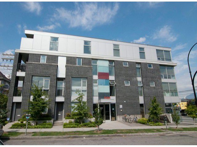 Main Photo: # 410 2511 QUEBEC ST in Vancouver: Mount Pleasant VE Condo for sale (Vancouver East)  : MLS®# V1070604