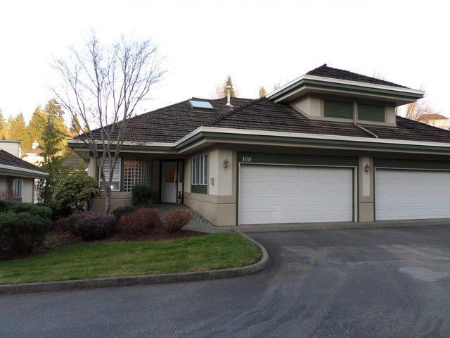 Main Photo: 100 4001 Old Clayburn Road in Abbotsford: Abbotsford East Townhouse for sale : MLS®# F1434494