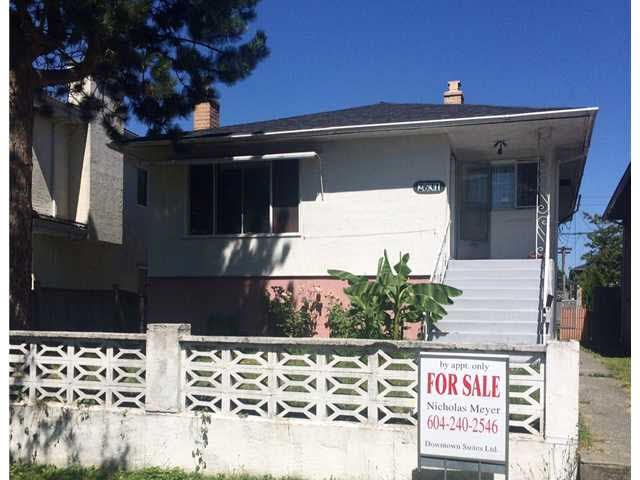 Main Photo: 2631 DUKE STREET in Vancouver: Collingwood VE House for sale (Vancouver East)  : MLS®# V1137364