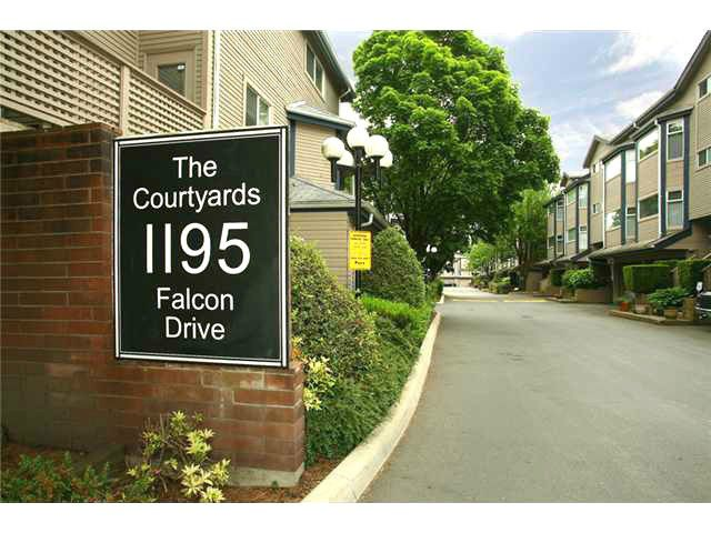 "Main Photo: 47 1195 FALCON Drive in Coquitlam: Eagle Ridge CQ Townhouse for sale in ""Courtyards"" : MLS®# V1012695"