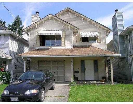 Main Photo: 1873 FRASER AV in Port Coquiltam: Glenwood PQ House for sale (Port Coquitlam)  : MLS®# V575638