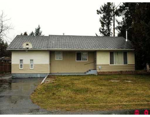 Main Photo: 2647 CENTENNIAL ST in Abbotsford: Abbotsford West House for sale : MLS®# F2610129