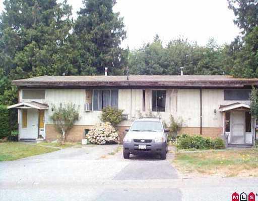 """Main Photo: 11393 GLEN AVON DR in Surrey: Bolivar Heights House Duplex for sale in """"Bolivar Heights"""" (North Surrey)  : MLS®# F2517277"""
