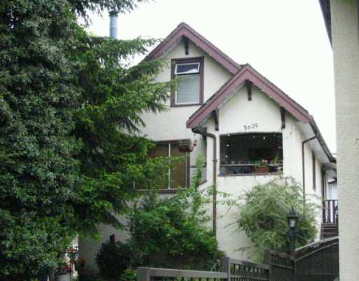 Main Photo: 3605 ADANAC ST in Vancouver: Renfrew VE House for sale (Vancouver East)  : MLS®# V568540