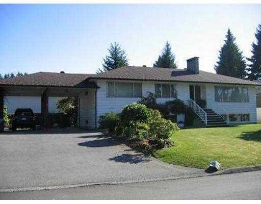 Main Photo: 2100 CRANE AV in Coquitlam: Central Coquitlam House for sale : MLS®# V568940