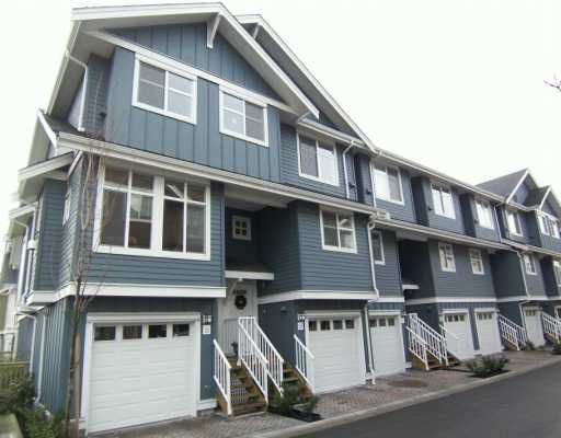 """Main Photo: 935 EWEN Ave in New Westminster: Queensborough Townhouse for sale in """"COOPER'S LANDING"""" : MLS®# V628484"""