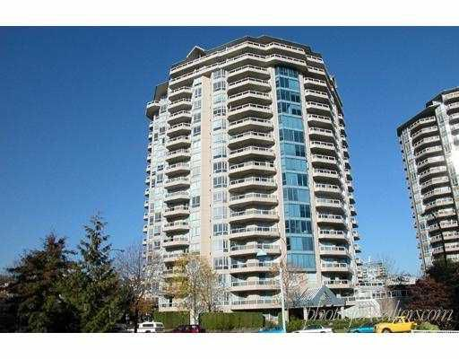 """Main Photo: 604 1245 QUAYSIDE DR in New Westminster: Quay Condo for sale in """"THE RIVIERA"""" : MLS®# V587556"""