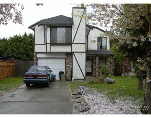 Main Photo: 10600 KOZIER DR in Richmond: Steveston North House for sale : MLS®# V584836