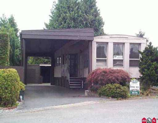 """Main Photo: 2070 CUMBRIA DR in White Rock: King George Corridor Manufactured Home for sale in """"Cranley Park"""" (South Surrey White Rock)  : MLS®# F2517190"""