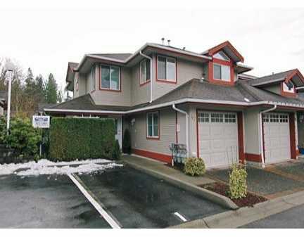 "Main Photo: 22740 116TH Ave in Maple Ridge: East Central Townhouse for sale in ""FRASER GLEN"" : MLS®# V623520"