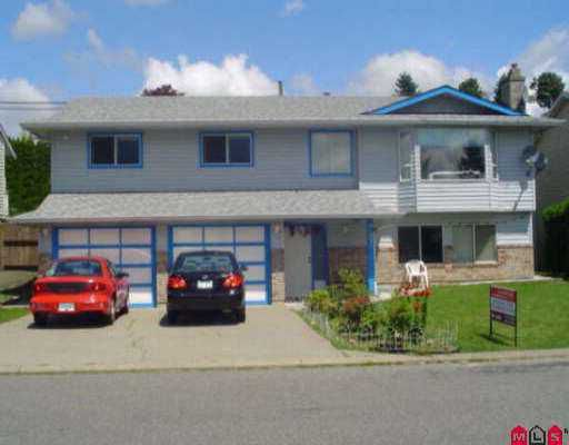 Main Photo: 31271 DEHAVILLAND DR in Abbotsford: Abbotsford West House for sale : MLS®# F2613261