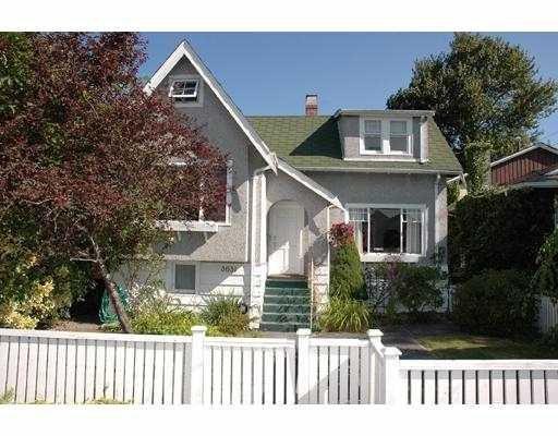 Main Photo: 3631 PLEASANT ST in Richmond: Steveston Village House for sale : MLS®# V550214