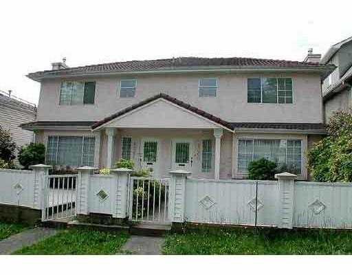 Main Photo: 1360 E 15TH AV in Vancouver: Grandview VE House 1/2 Duplex for sale (Vancouver East)  : MLS®# V584281
