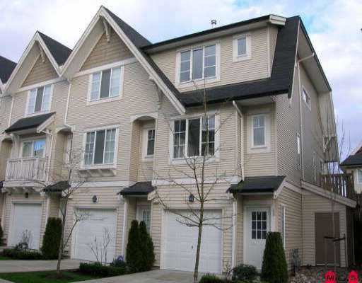 "Main Photo: 48 20540 66TH AV in Langley: Willoughby Heights Townhouse for sale in ""Amberleigh"" : MLS®# F2602212"