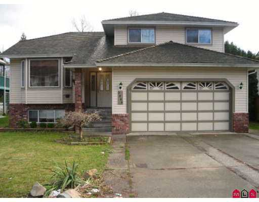 Main Photo: 2900 CROSSLEY Drive in Abbotsford: Abbotsford West House for sale : MLS®# F2626904