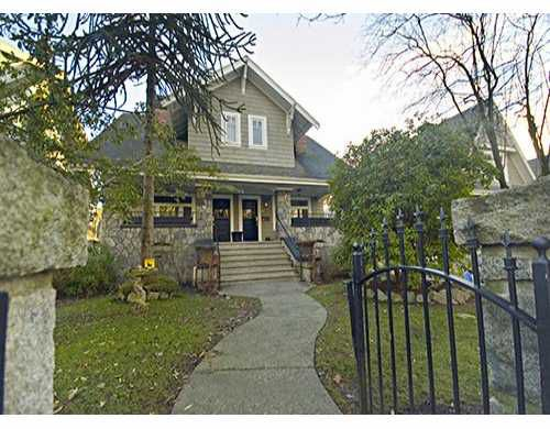 Main Photo: 2468 W 5TH Ave in Vancouver: Kitsilano House 1/2 Duplex for sale (Vancouver West)  : MLS®# V624692