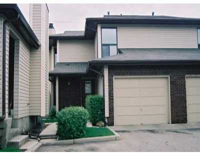 Main Photo:  in CALGARY: Cedarbrae Townhouse for sale (Calgary)  : MLS®# C3174958