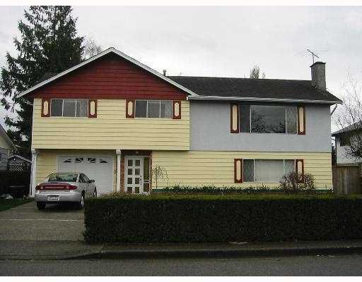 Main Photo: 8440 ROSEHILL Drive in Richmond: South Arm House for sale : MLS®# V635468